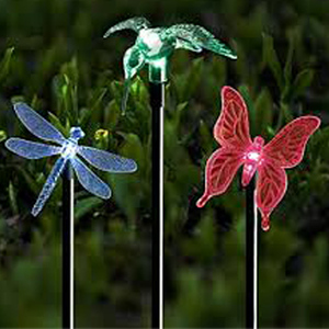 Solar Butterfly Light Garden Stake, Solar Butterfly Light Garden Stake  Suppliers And Manufacturers At Alibaba.com