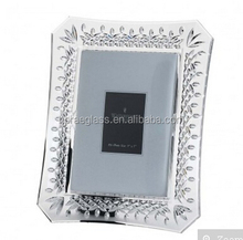 Fashion glass Frame,wedding glass photo frame coaster favor gifts