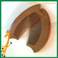 promotional comb wood laser comb
