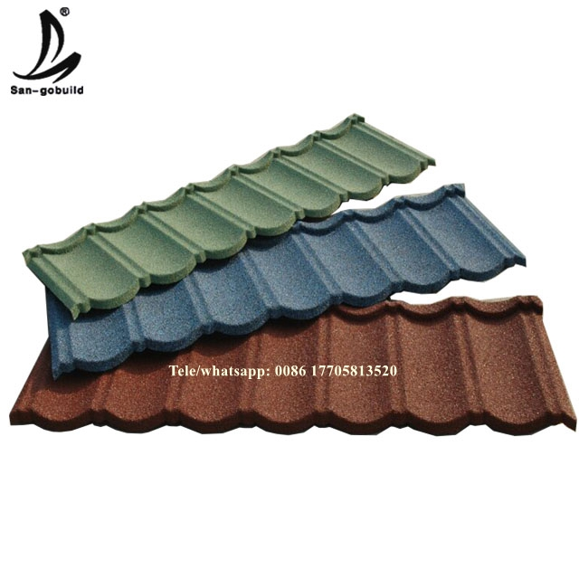 Colorful residential roof tile,metal roof tile price philippines/ red clay roof tiles
