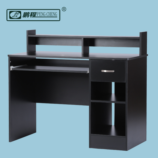 Modern Design Wall Mount Executive MDF Computer Table with Keyboard Tray