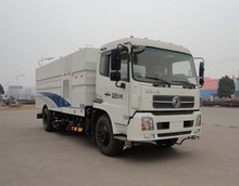 with China manufacture road sweeper truck