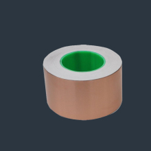 copper conductive adhesive tape 12mm x 33m or customized 80mic