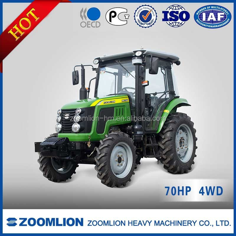 ZOOMLION high quality 70HP 4WD RK704 farm tractor