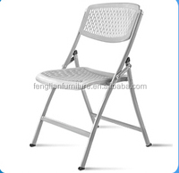 morden white wedding hall folding chairs