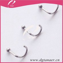 Vogue stainless steel 1.2mm nose ring