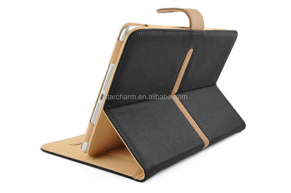 2015 New Coming For iPad Air folding leather standing case