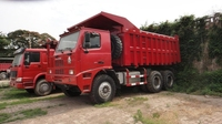 New type super heavy duty dump truck use in the mining industry for sale