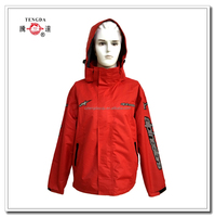 OEM rain coat factory oxford PU waterproof jacket for outdoor