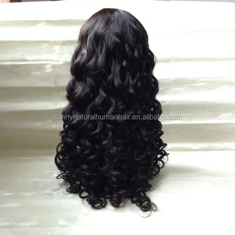 wholesale price Malaysian U part human hair wig natural color 1B middle part quality cheap U part wigs for sale