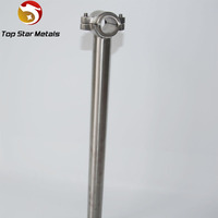 Titanium Bicycle Seatpost 27.2mm-for Road,MTB&FR-Ultra Light