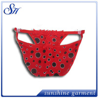 hot selling high quality wholesale fashional red lace panties for girls