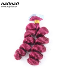 Seamless double sided tape hair extensions, double sided tape for hair weave, double sided tape weft hair
