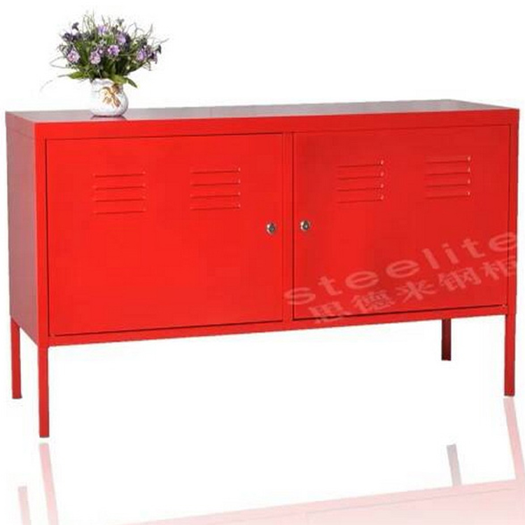 wall mounted curio led tv Stand cabinet/Steel metal cabinet