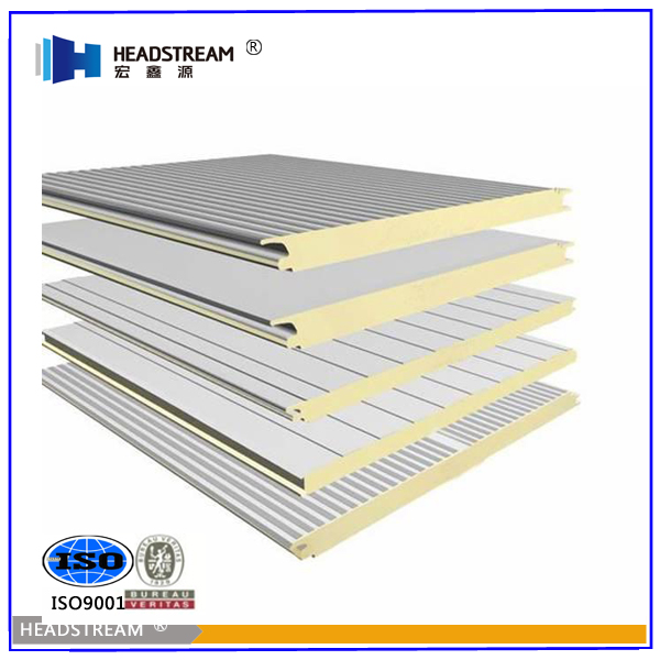 2016 Professional supplier isolation cold room wall panel for building materials