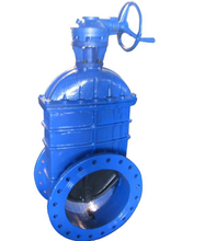 High quality ductile iron pn16 gate valve with price list from China
