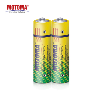 4 pcs one pack long lasting 1.5v R6P/AA size toy battery zinc chloride single use batteries