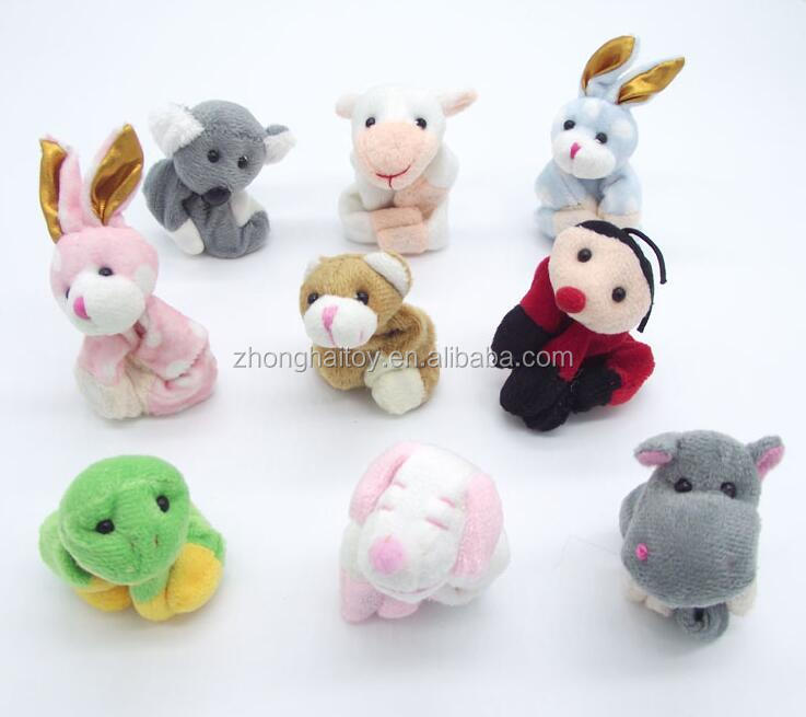 Animal Magnet Plush Toy Wholesale Plush Animal Fridge Magnet Toys Plush Magnet Toy