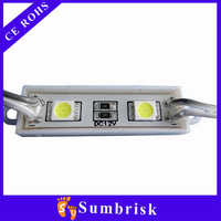 High quality waterproof 5050 2chips injection led module