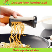 China wholesale plastic tri-blade mini vegetable spiralizer for Noodle Maker