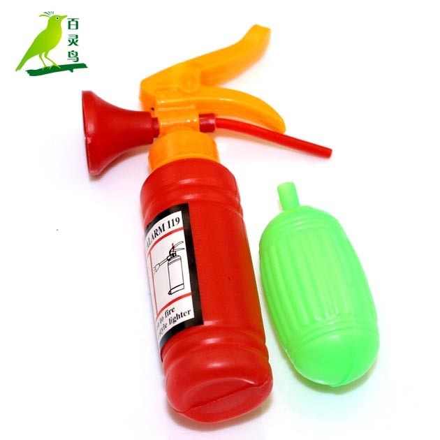 Fire toy fire extinguishers funny nany candy toys make in china