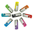 promotional swivel usb flash drive