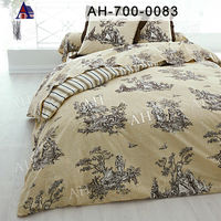 Indian Printed Double Size Microfiber Bedding Set