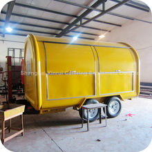 2014 Best Convenient Outdoor Food Beverage Oven Cart Manufacturing Companies in China XR-FC350 D