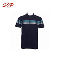 Lifeline Stripe Cotton Polo Shirt Custom