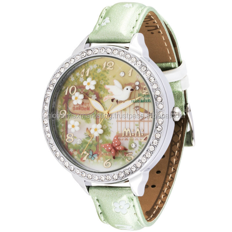 Double Layer Glass 3D Design Luxury Watch