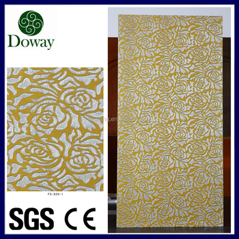 2016 hot sale decorative 3d wall panels