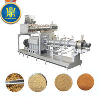 Extruder for floating fish food machine automatic floating fish feed processing extruder