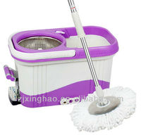 XH-015 Stick floor easy spin mop set floor board dry rotating mop