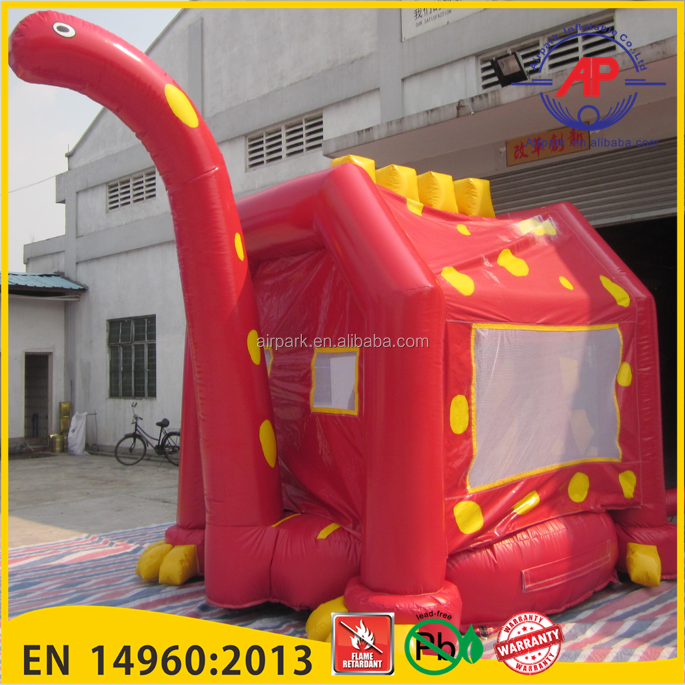 Big Dinosaur Inflatable indoor Bouncer for kids