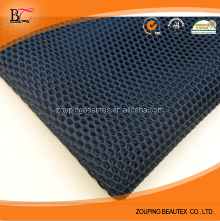 Supply 3d air vent mesh fabric for sports shoes and car 3d spacer fabric and cloth