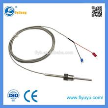 high accurace 3d printer used transition style k type thermocouple adjustable immersion probe sensor with high quality
