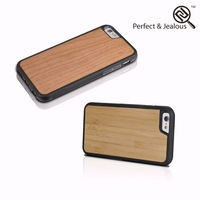 Alibaba Genuine wood plaid pattern mobile phone case for iphone 6