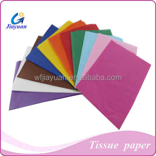 22gsm Colored Tissue Paper Sheets for Making Paper Arts and Crafts