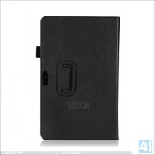 Leather folio case for Dell Venue 11 Pro, folio cover tablet cases for Dell Venue 11 Pro with card holder and handstrap