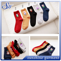 socks wholesale Yiwu new promotional gift carton girl tube sock for women