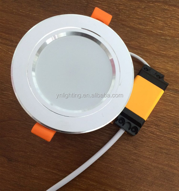 Adjustable angle 5w 7w 9w 12w 15w recessed celling led cob downlight / smd chip ceiling downlight