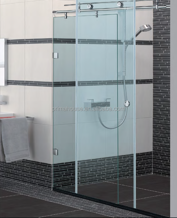 Excellent quality Chinese supplier bubble glass shower door
