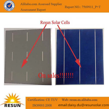 A grade certified solar cell mono/poly crystalline 156mm solar cell