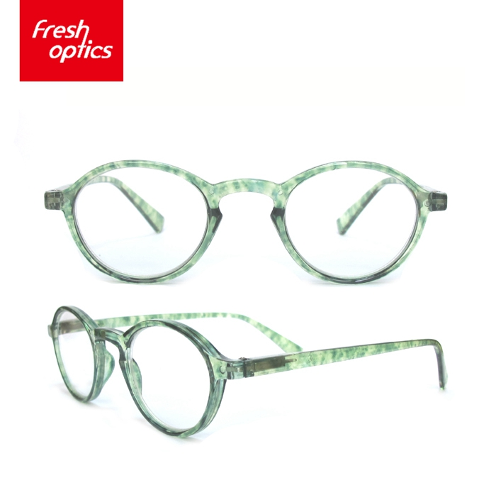 RD - 128 Cheap Colorful Flexible Plastic Reading Glasses With Brand And LOGO