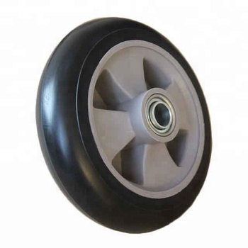 Rubber caster wheels 200x50