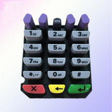 POS Machine Silicone Button Keypad