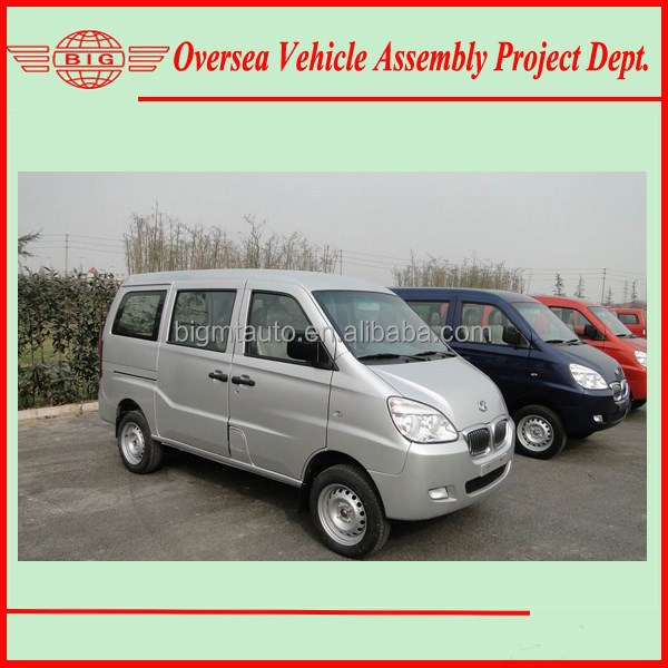 Euro IV Standard 8 Seats Gasoline Engine A/C OB Van For Sale