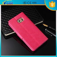 2015 new design high quality detachable genuine leather wallet case for Samsung Galaxy S5
