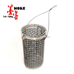 Hot-seilling Stainless steel Fishing bait cage