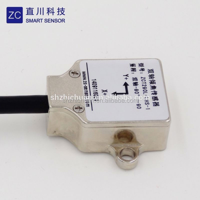 (ZCT290L-LHS-17)2 axis 0~10v output solar sun tracking analog inclinometer sensor